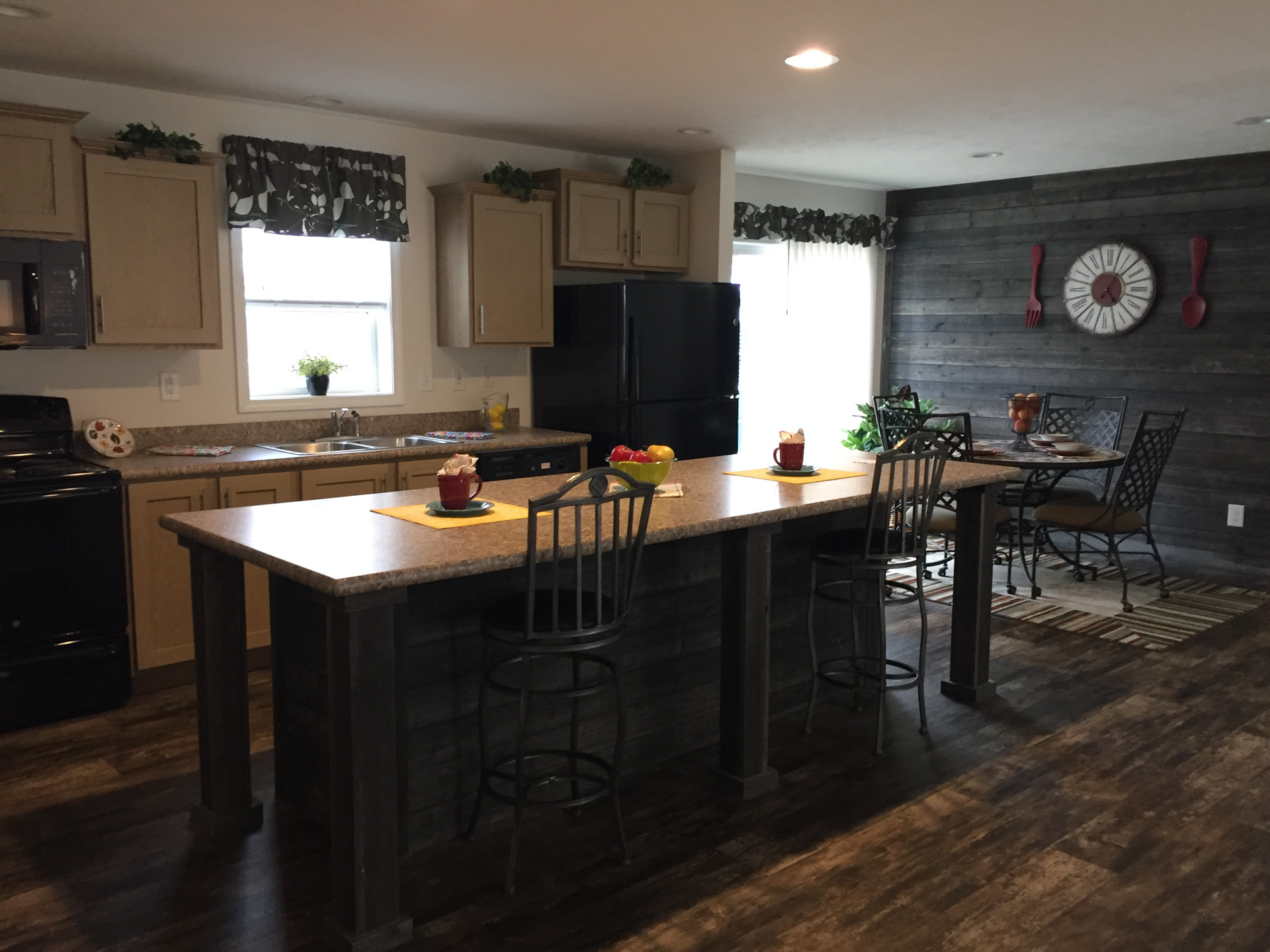 Limited kitchen island