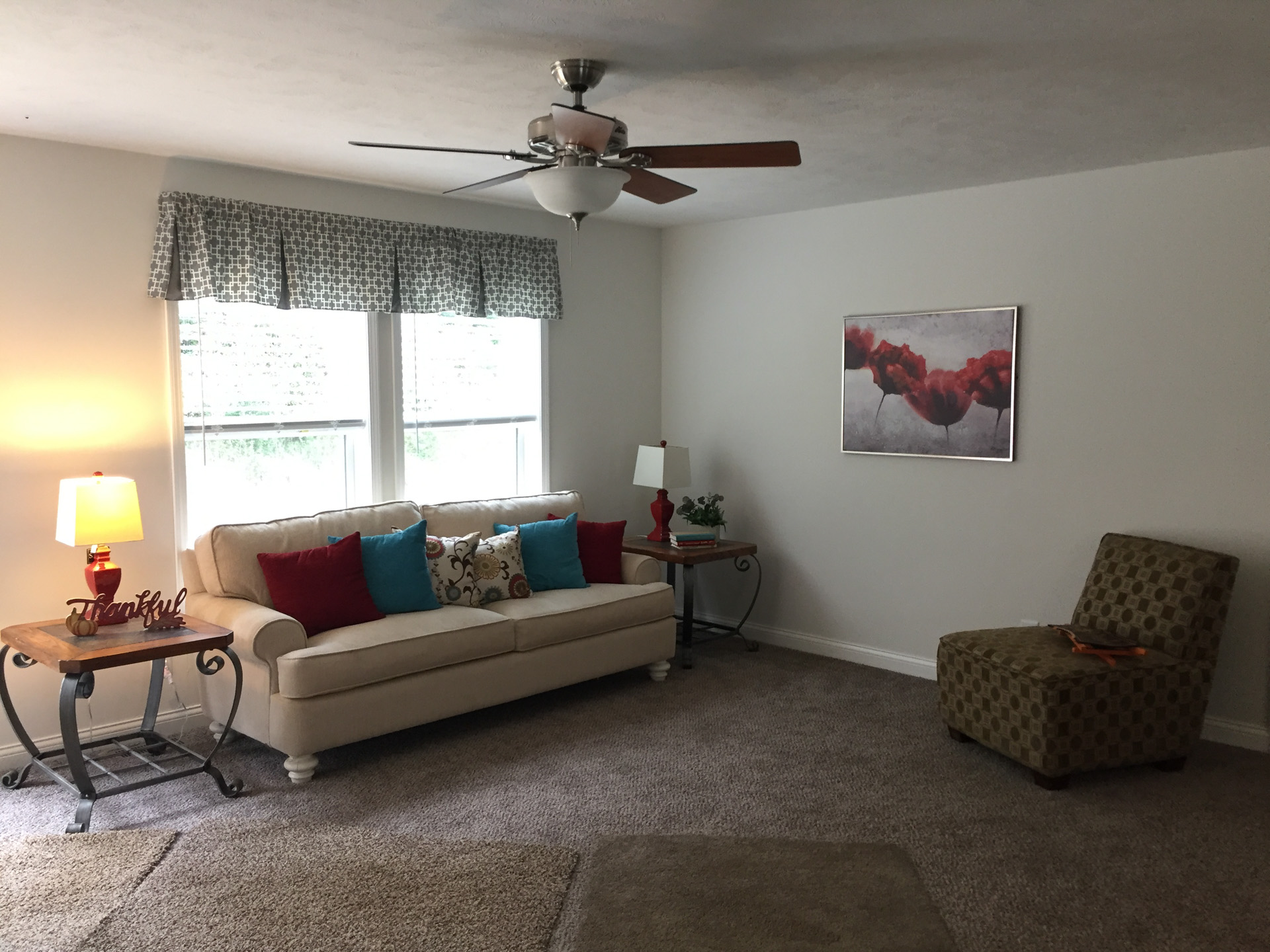 Limited living room