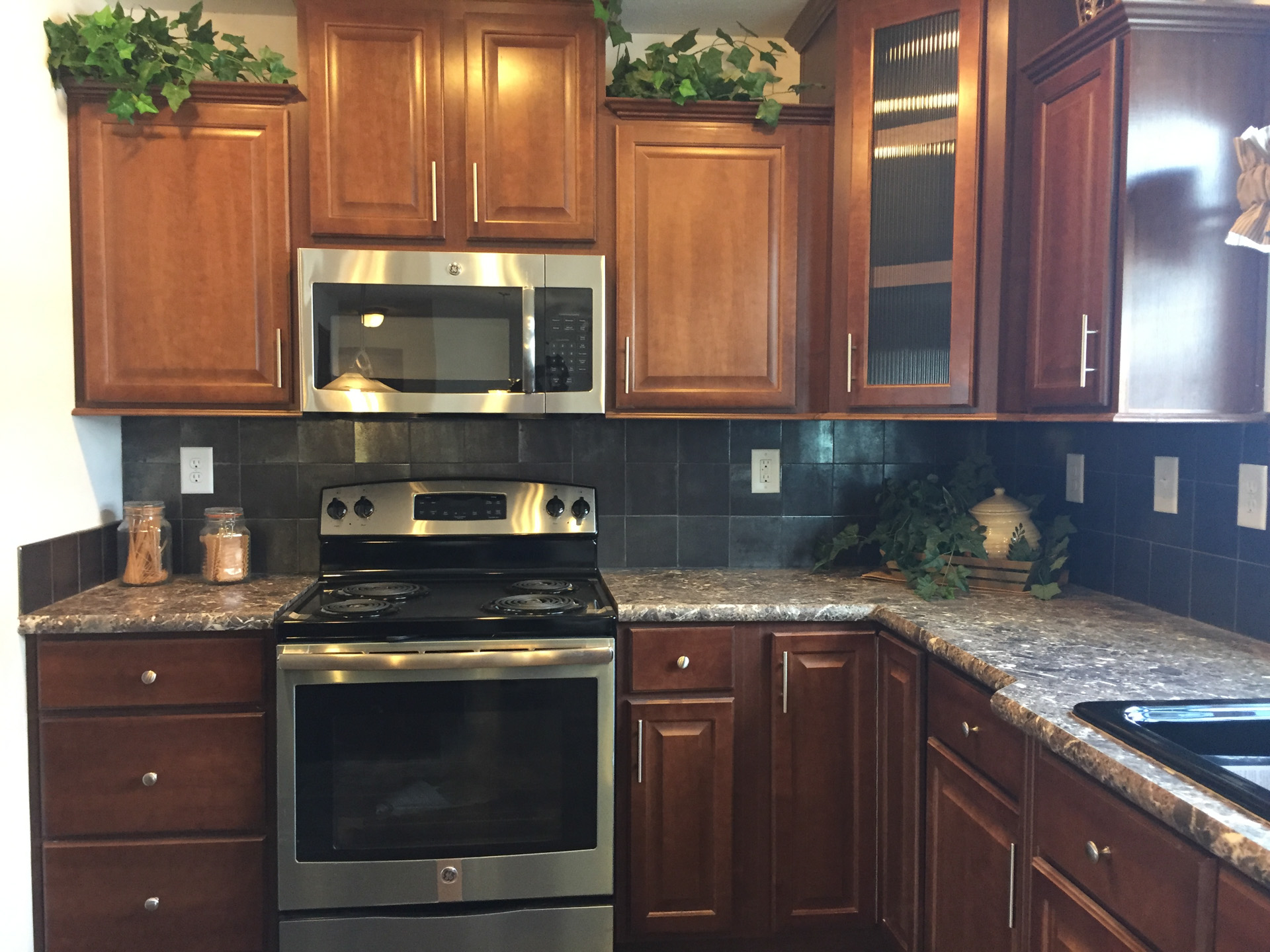 Lionel kitchen cooking area