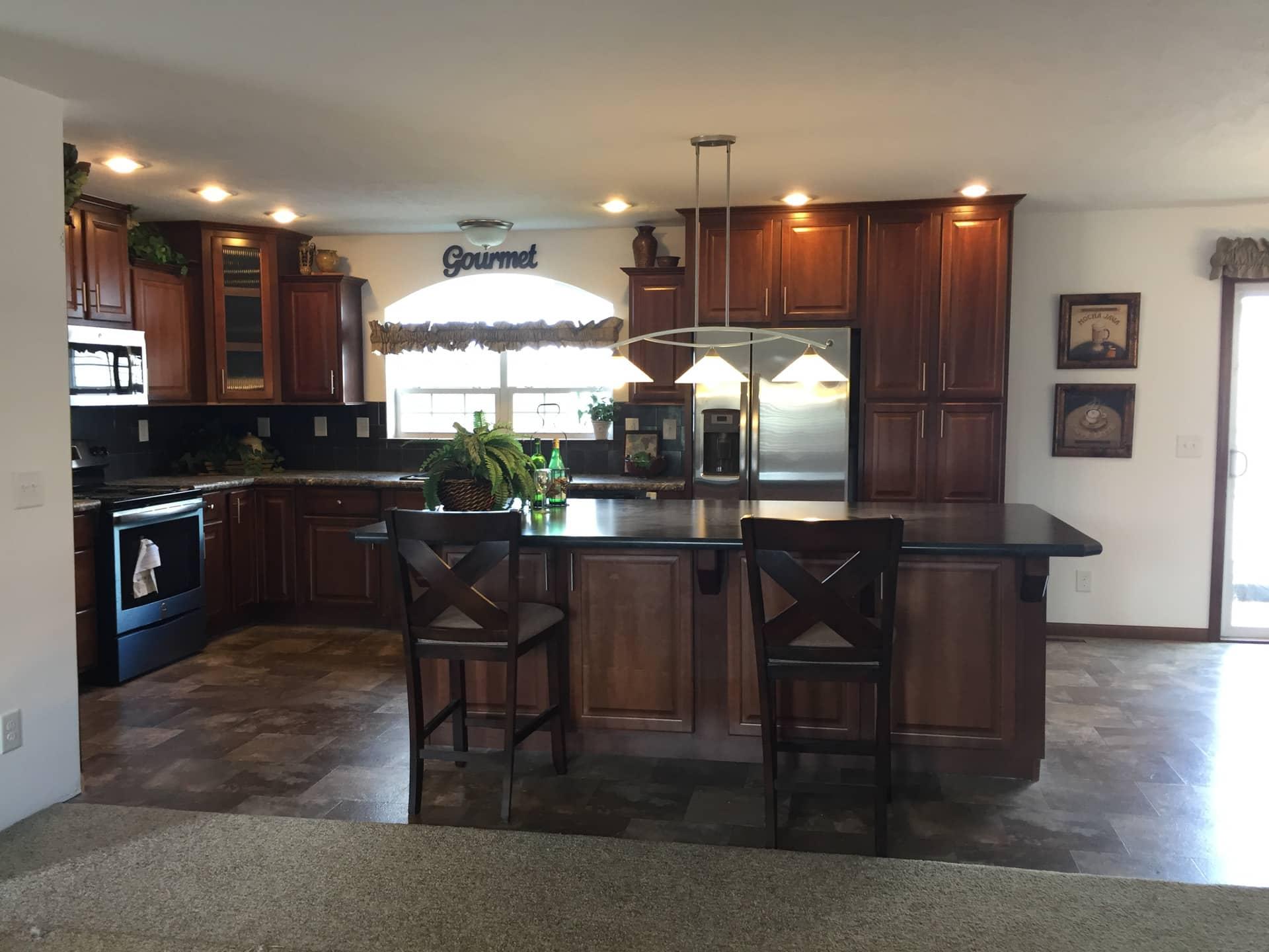 Lionel kitchen island