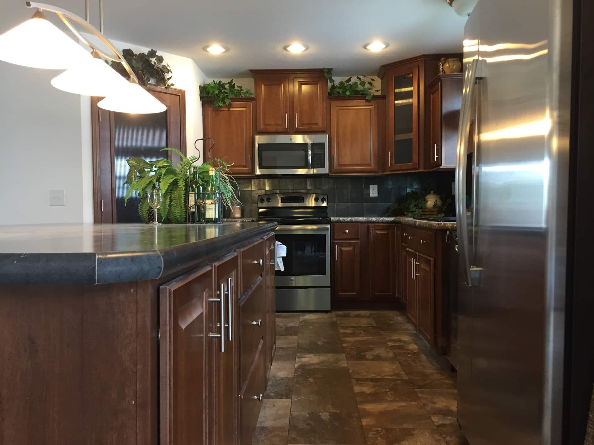 Lionel kitchen view
