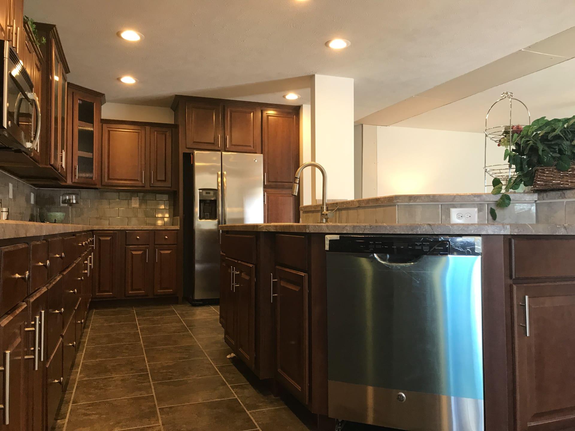 Princeton kitchen island