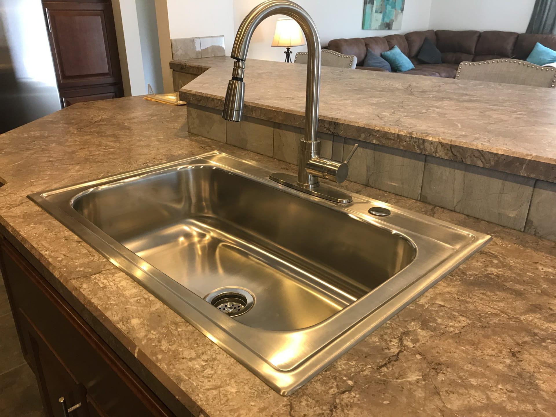 Princeton stainless steel kitchen sink