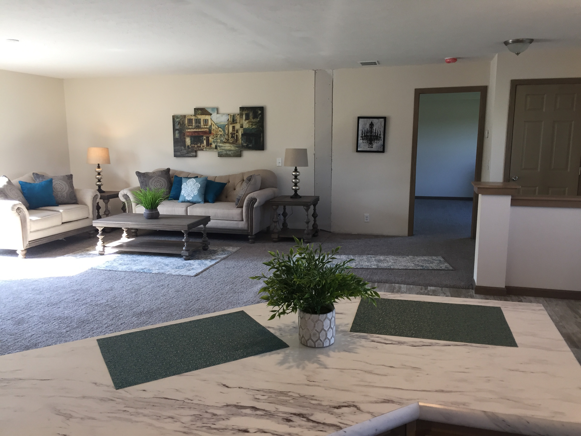 Barton living room