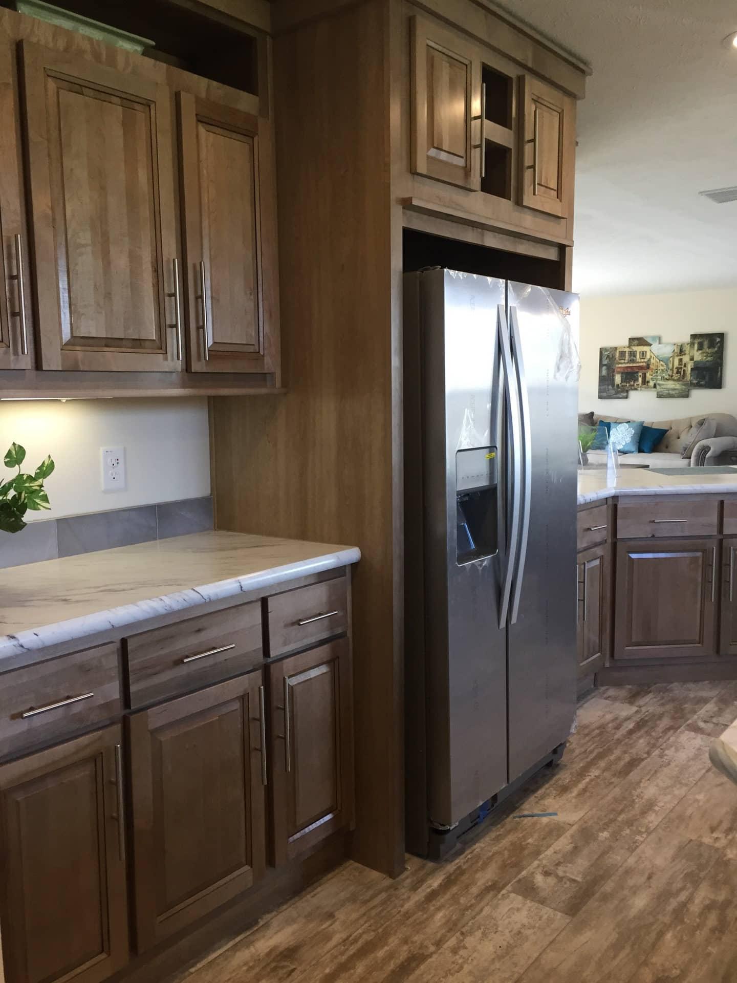 Barton stainless steel refrigerator