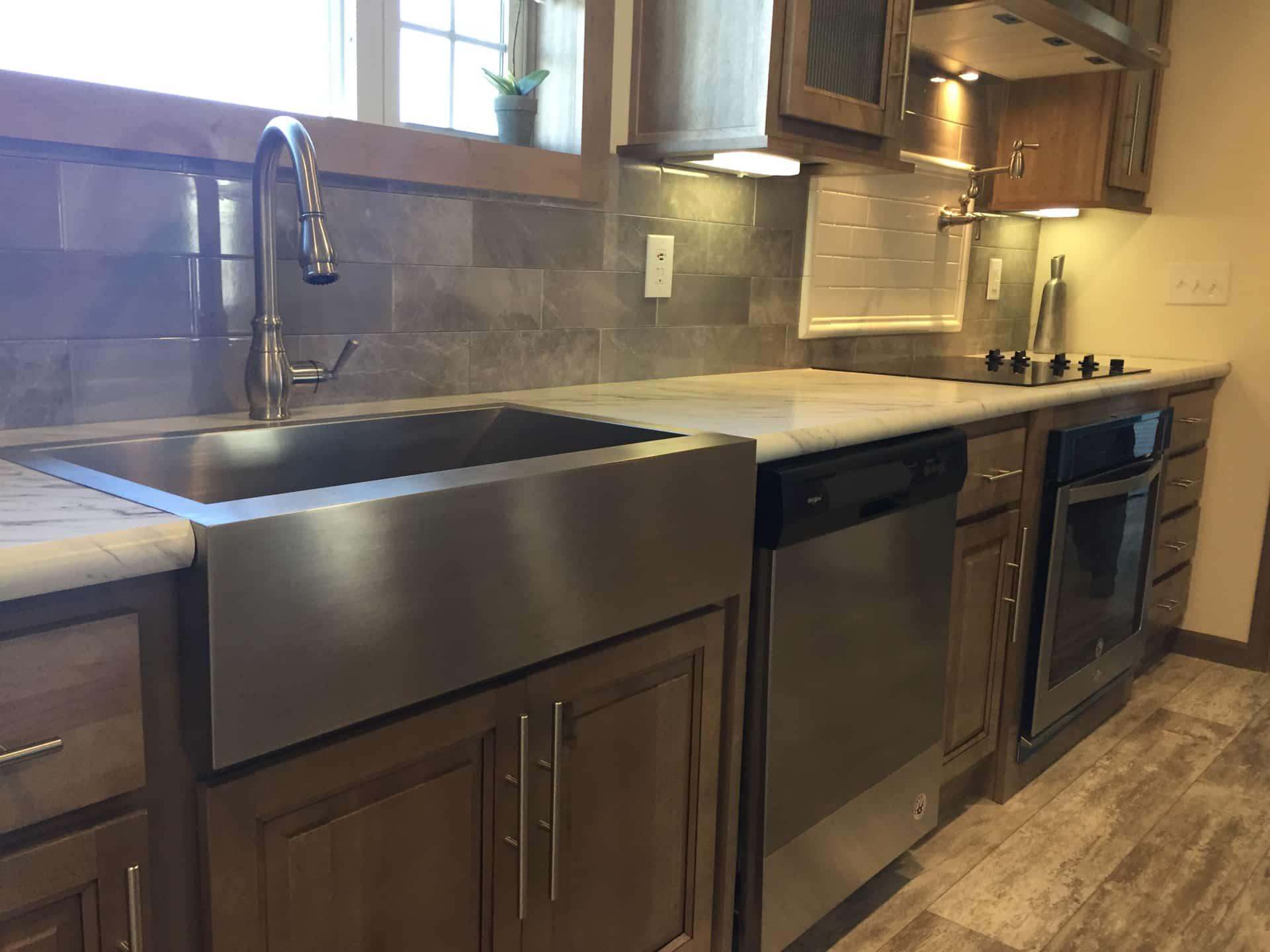 Barton stainless steel kitchen sink