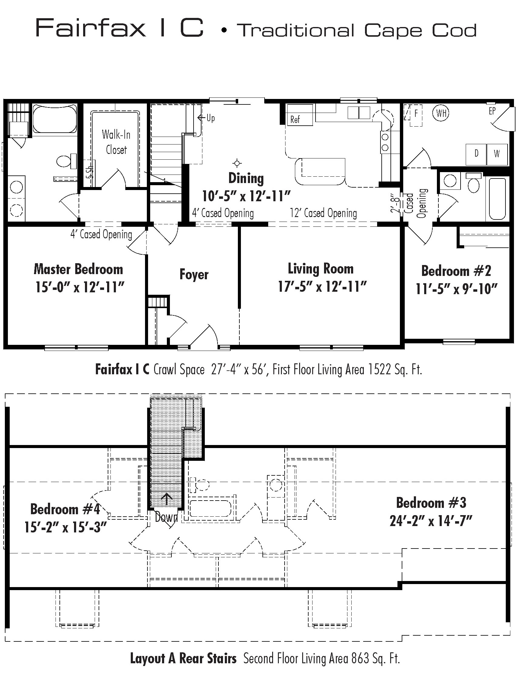 The fairfax d w homes for Unibilt homes pricing