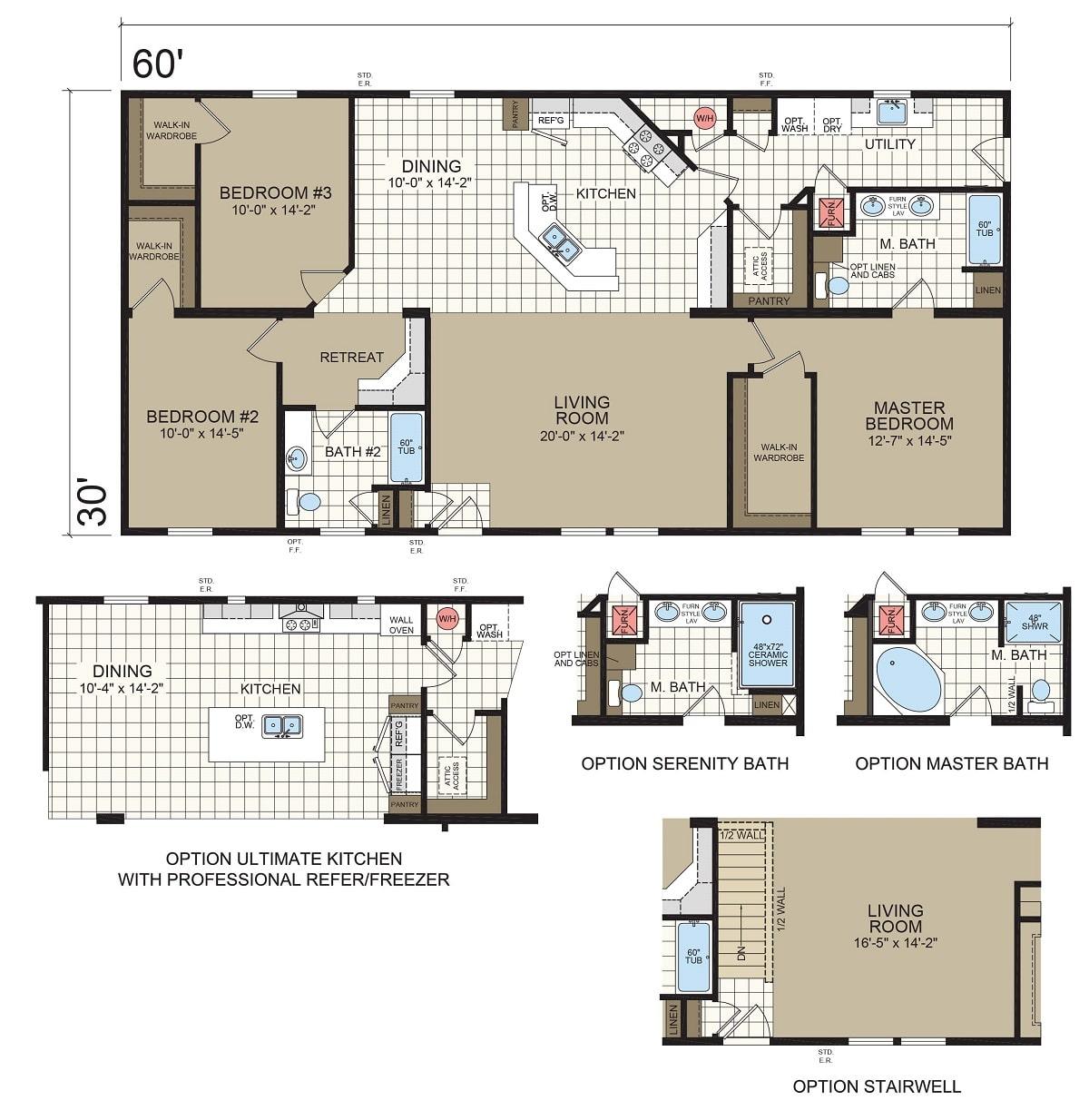 Champion Barclay 6015 Floorplan