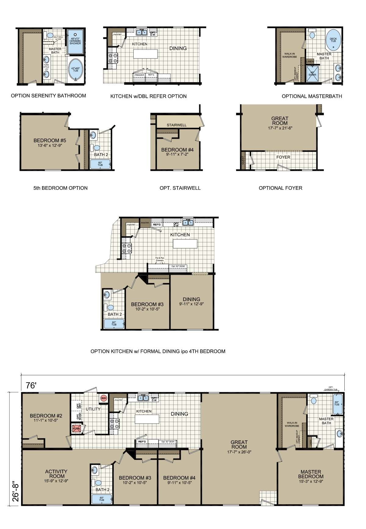 Champion Gold Star 2880 201 Floorplan