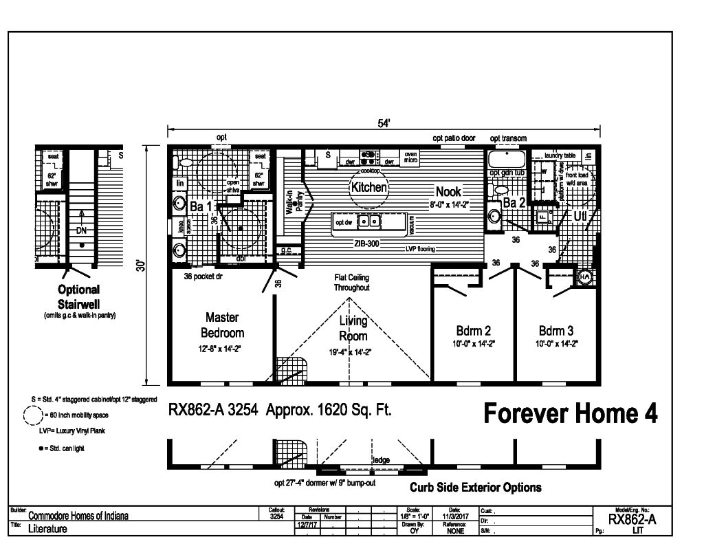 Commodore Forever Home 4 RX862A Floorplan