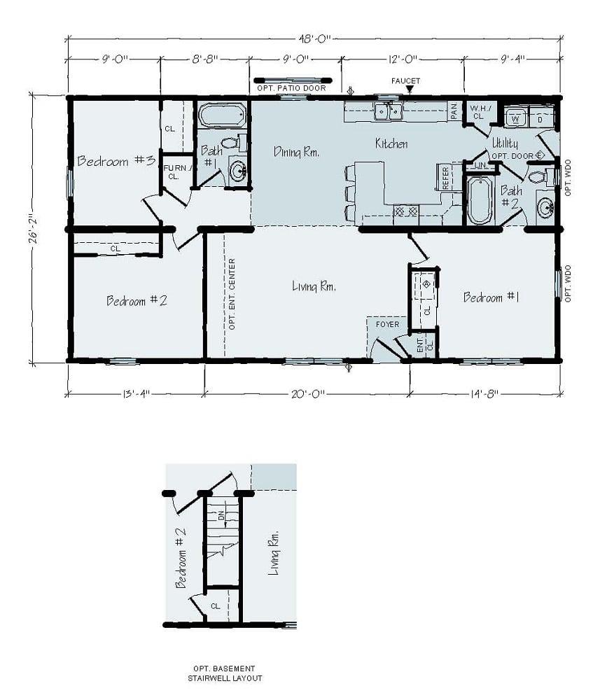 Rochester Phoenix R4 Floorplan