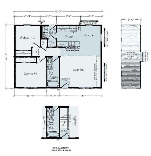 Rochester Rudy R32 Floorplan