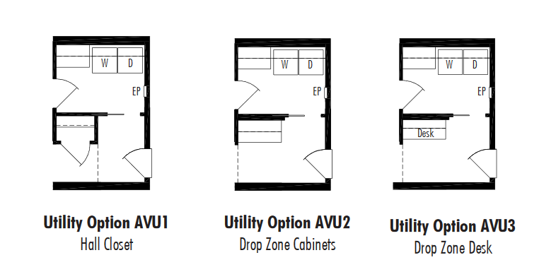 Unibilt Andover I Utility Option