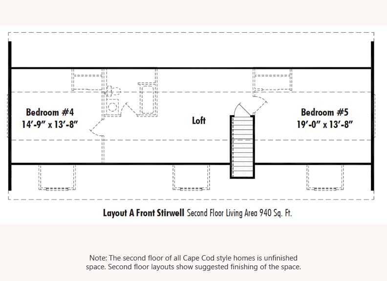 Unibilt Andover II C Second Floor Suggested Layout Updated