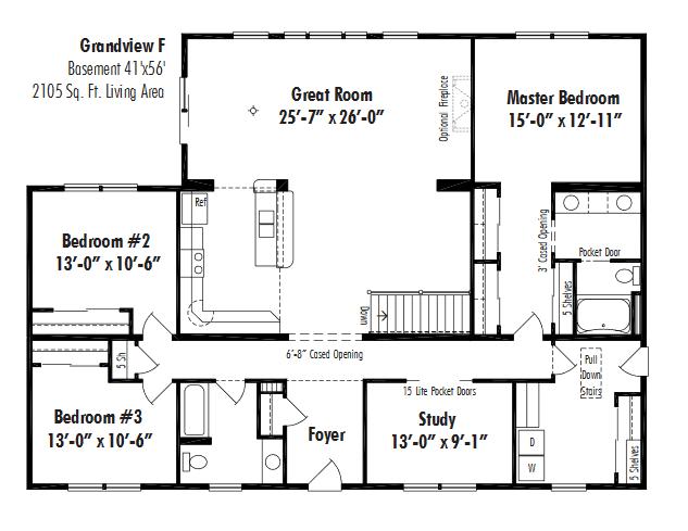 Unibilt Grandview F Floorplan