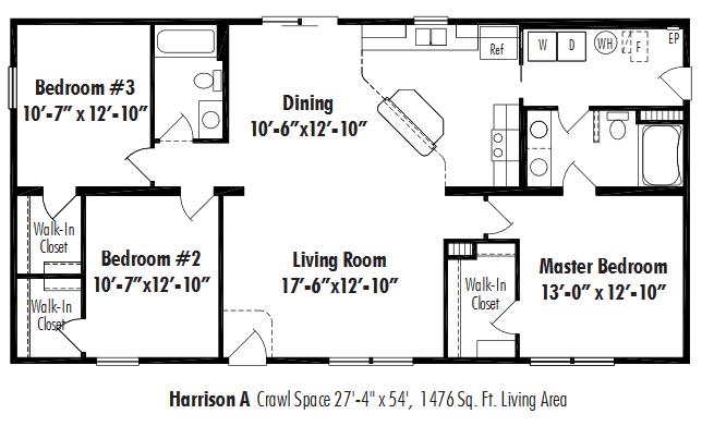 Unibilt Harrison A Floorplan