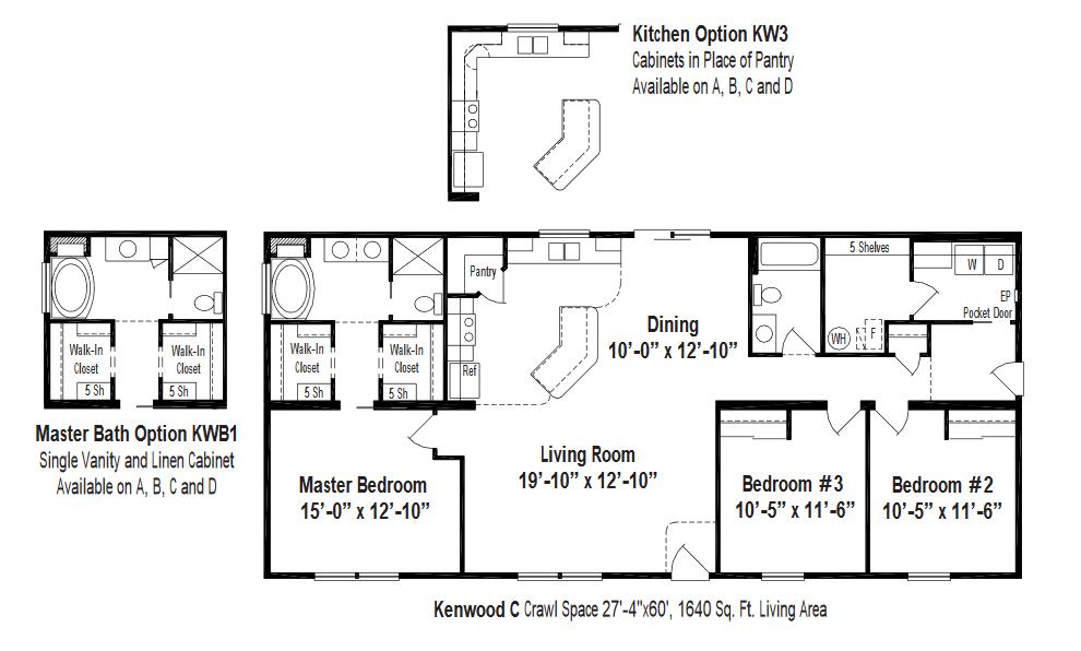 Unibilt Kenwood C Floorplan
