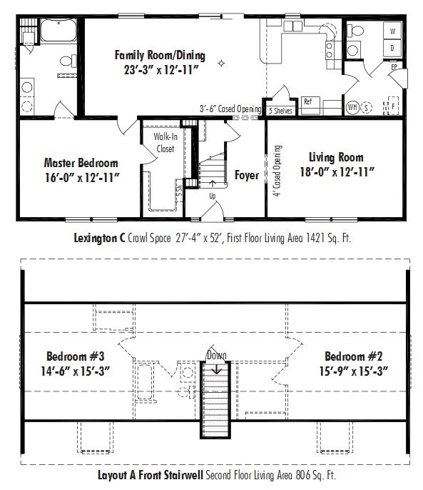 The Lexington C D Amp W Homes