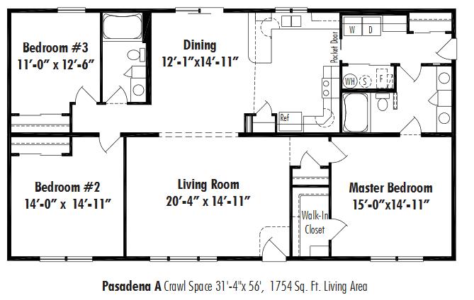 Unibilt Pasadena A Floorplan