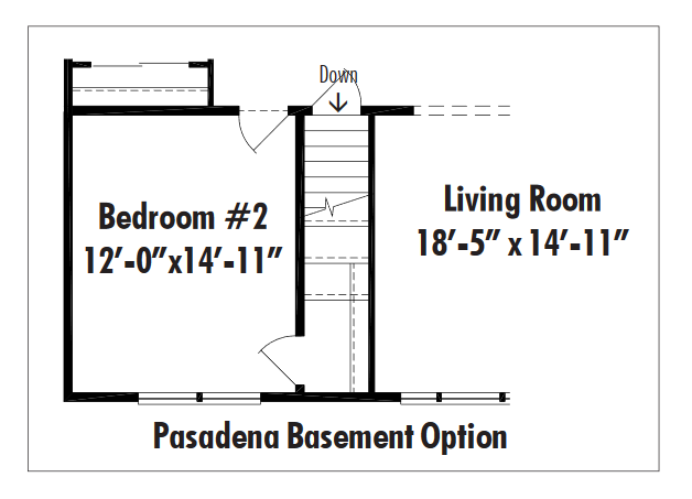 Unibilt Pasadena Basement Opt
