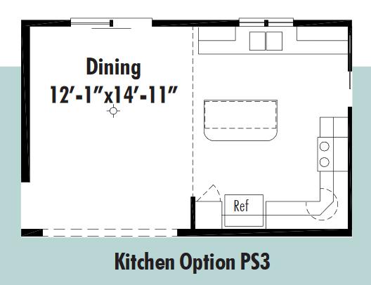 Unibilt Pasadena Kitchen Opt 1