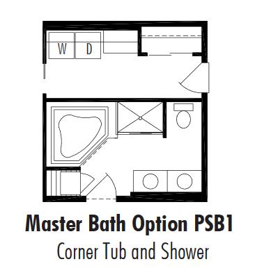 Unibilt Pasadena Master Bath Opt