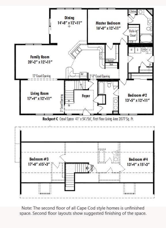 Unibilt Rockport C Floorplan Updated