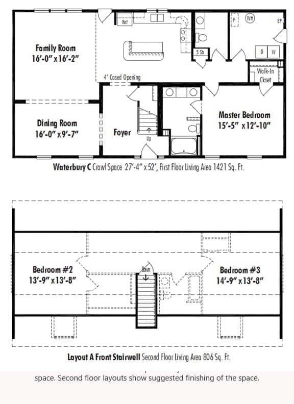 The Waterbury C D Amp W Homes