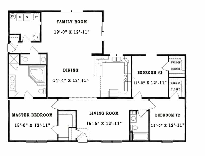 Unibilt Waverly B Floorplan Jackson