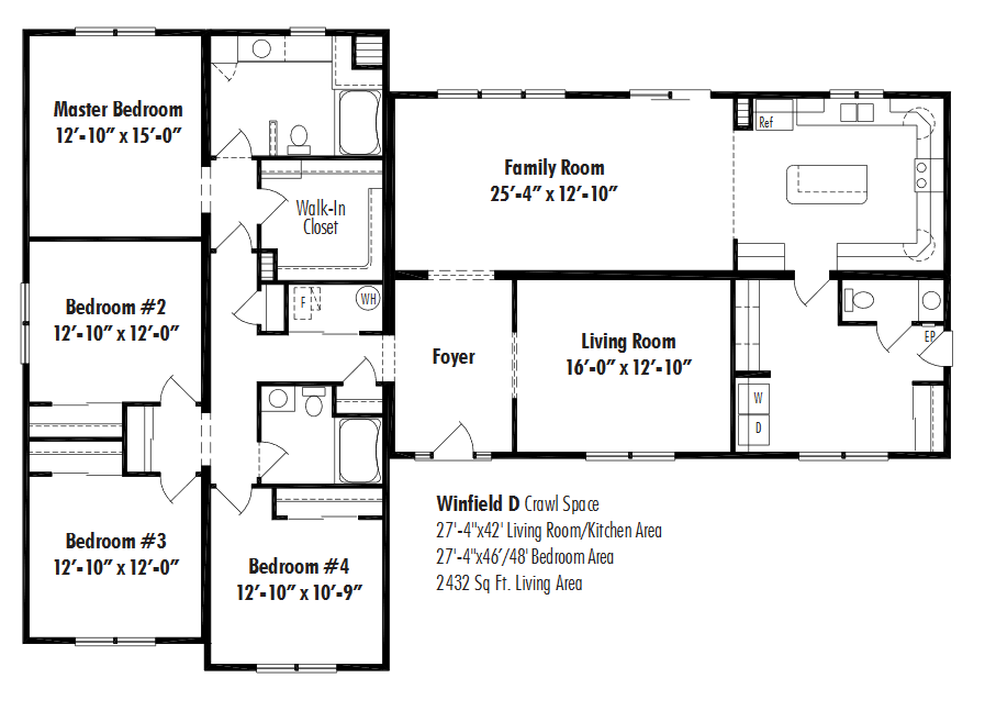 Unibilt Winfield D Floorplan