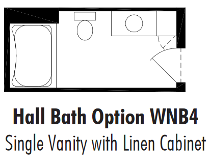 Unibilt Winfield Hall Bath Opt