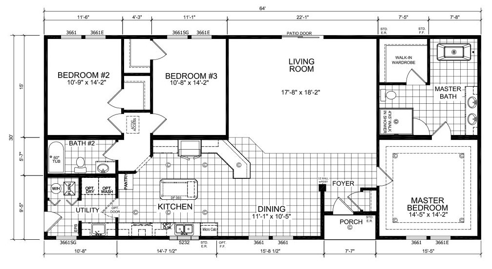 Champioin Barton BC60219/DM6005 Floor Plan