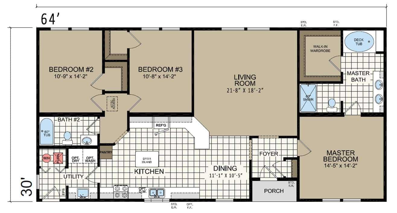 Champion Barton BC60219 DM6005 Floor Plan