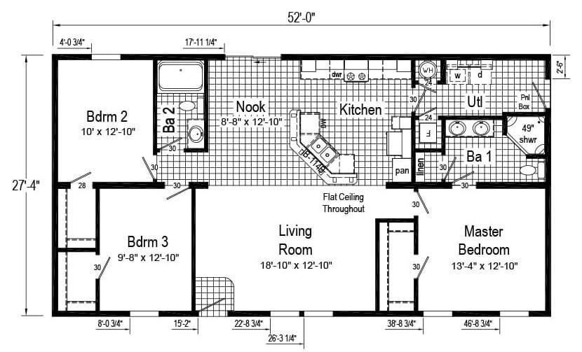 Commodore Elm GMCS 003 Henderson Floor Plan