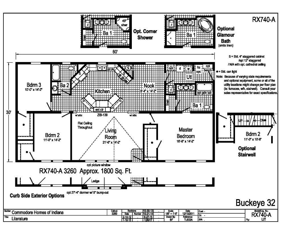 Buckeye 32 D Amp W Homes