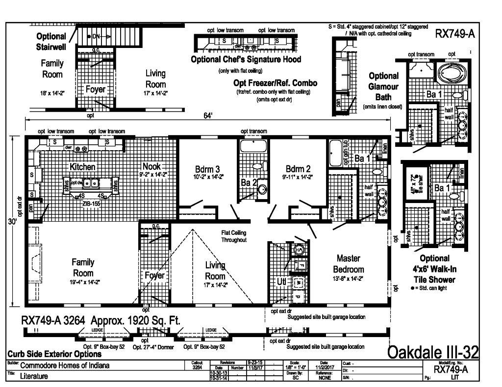 Oakdale Iii 32 D Amp W Homes