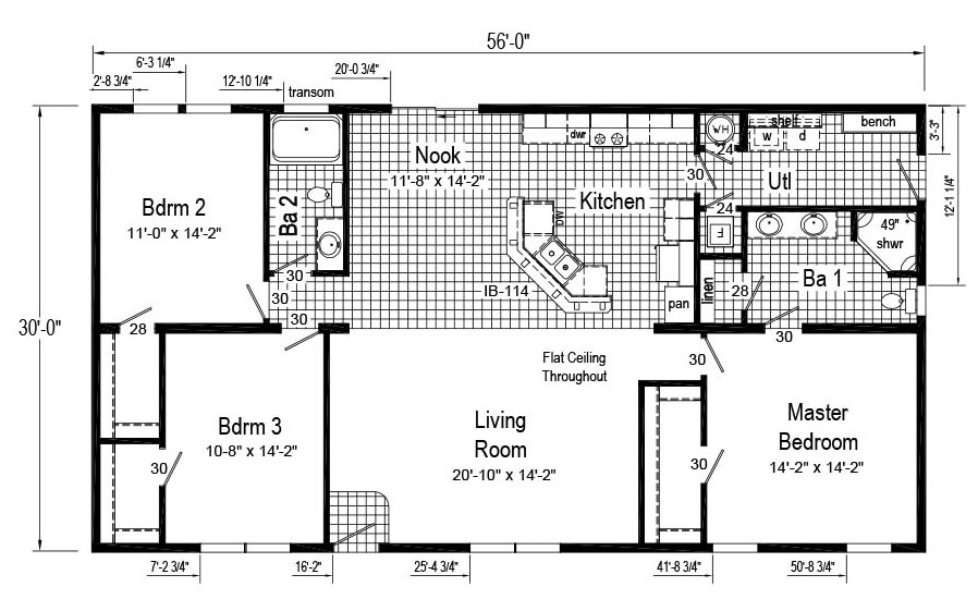 Commodore Elm RX721 Jackson Floor Plan