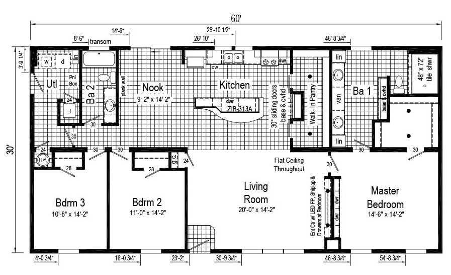 Commodore Limited 3 RX780 Chillicothe Floor plan