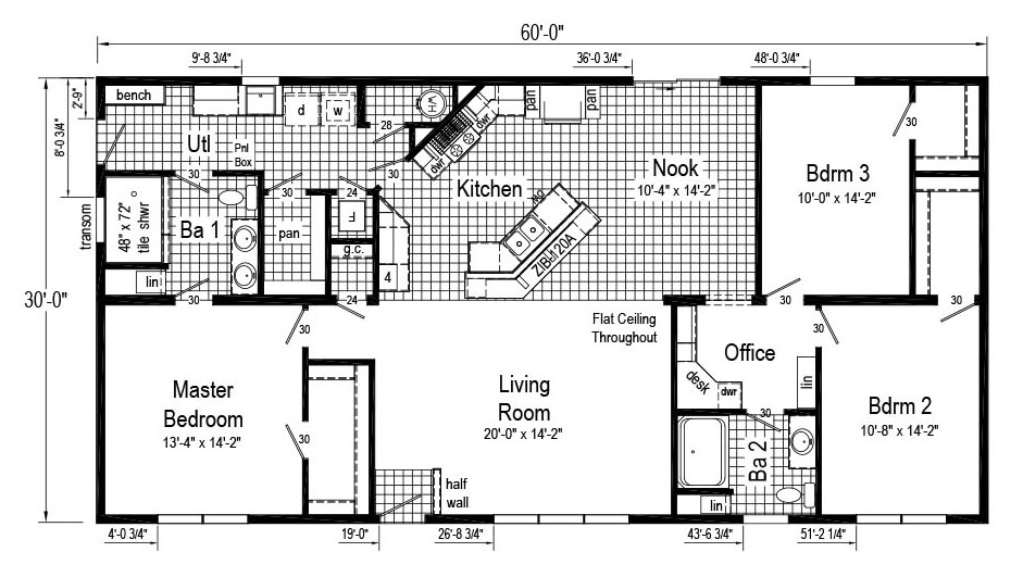 Commodore Mulberry II Chillicothe Floor Plan