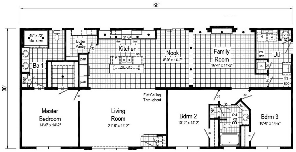 Commodore Douglas Jackson Floor Plan RX765